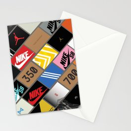 Sneaker Box Stationery Cards
