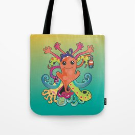 Monsters Revisited Tote Bag