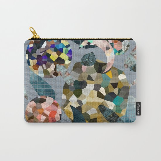 Gemstone Space Moon Carry-All Pouch