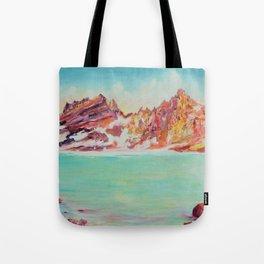 Broken Top Lake Tote Bag