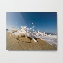 Ocea waves Metal Print