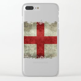Vintage english st ge Clear iPhone Case