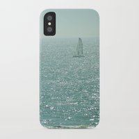 sailing iPhone & iPod Cases featuring Sailing by Catherine Holcombe