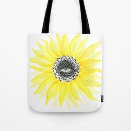 The Sunflower Eye Tote Bag