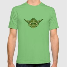 #47 Yoda Mens Fitted Tee LARGE Grass