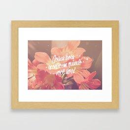 Sorria Framed Art Print