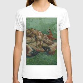 Vincent van Gogh - A Crab on its Back (1888) T-shirt