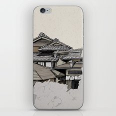 Vintage Gion iPhone Skin