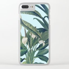 Tropical Paradise II Clear iPhone Case