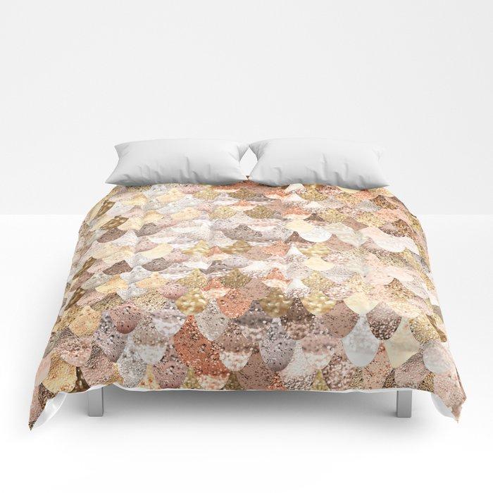 MERMAID GOLD Comforters