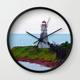 Lighthouse Cape Jourimain N-B Wall Clock