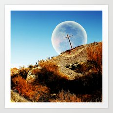 God will bring an end to this Art Print