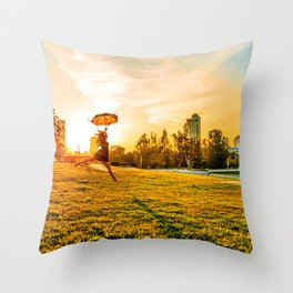 Mary comes back Throw Pillow