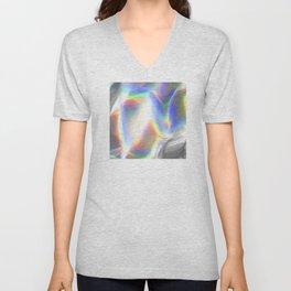 Luxurious Hologram Art Unisex V-Neck