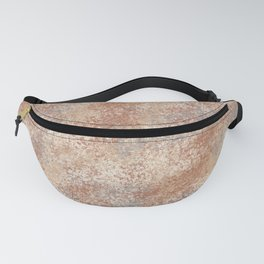 Cavern Clay SW 7701 and Abstract Distressed Chaotic Sponge Paint Pattern 2 Fanny Pack