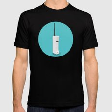 Motorola Dynatac Black MEDIUM Mens Fitted Tee