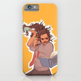Hermione (yellow) iPhone Case