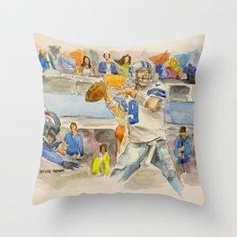 Tony Romo - Retired Pro Football Player Throw Pillow