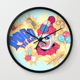 Pogo The Clown Wall Clock