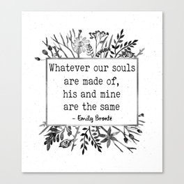 His and Mine Canvas Print