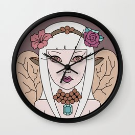 Day Fairy Wall Clock