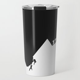 Different path to the top Travel Mug