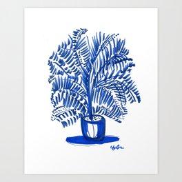 Afternoon Ferns Art Print