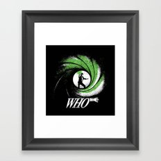 The Name's Who Framed Art Print