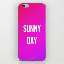 Sunny Day iPhone Skin