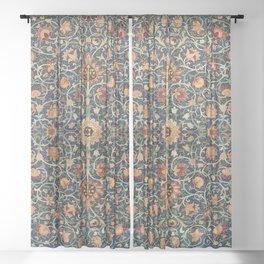 Holland Park Carpet by William Morris (1834-1896) Sheer Curtain
