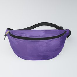amethyst watercolor abstract Fanny Pack
