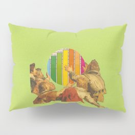 Chart Graph Pillow Sham