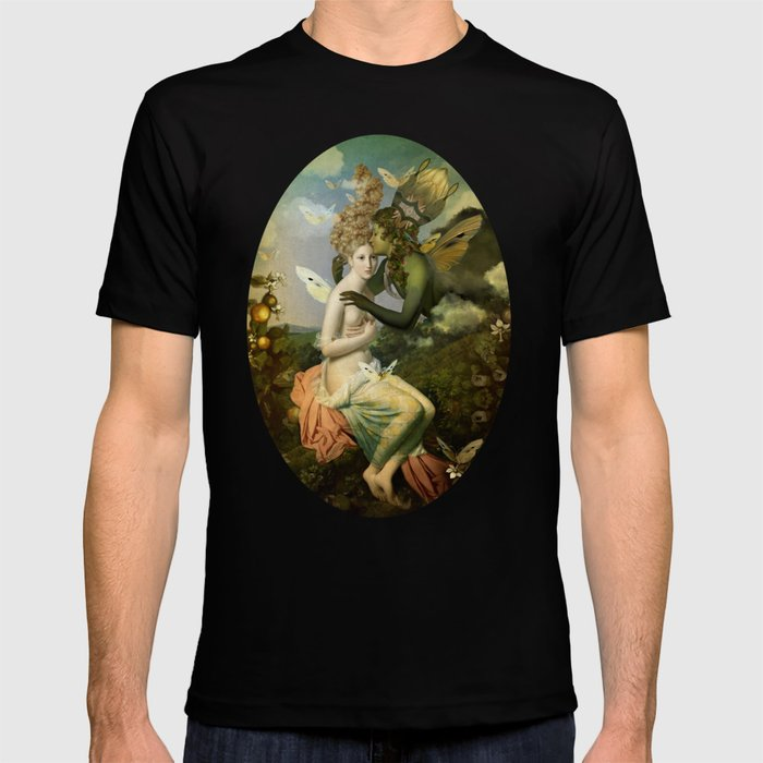 """The body, the soul and the garden of love"" T-shirt"