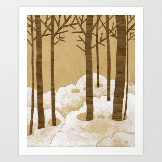 Forest is Alive! Art Print