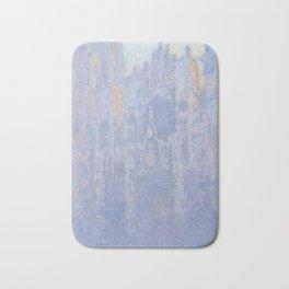 Rouen Cathedral Facade (Morning effect) Bath Mat