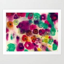 flower pattern II Art Print