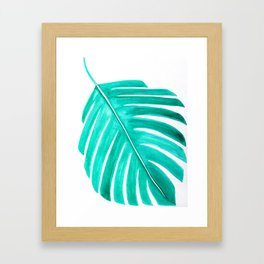 tropical discussions Framed Art Print