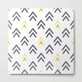 Texture of arrows Metal Print