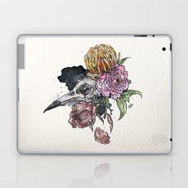 Bird Skull Garden Laptop & iPad Skin