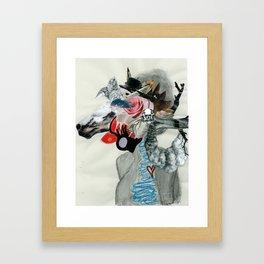 Animal Instinct. Framed Art Print