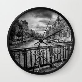 AMSTERDAM Emperors canal Wall Clock
