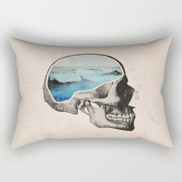 Brain Waves Rectangular Pillow