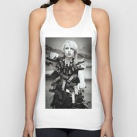 guns Tank Tops featuring Guns by Pedro E Bauza