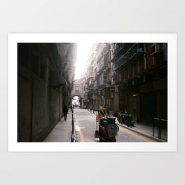 This side of town Art Print