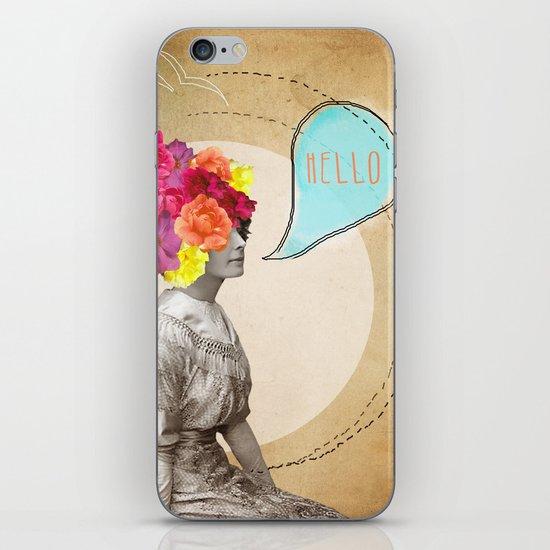 Collage Love - Miss Lady Bird iPhone & iPod Skin
