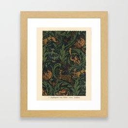 Jagtapete Wallpaper Design Framed Art Print