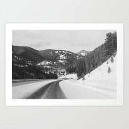 35mm Mountain Highway Art Print