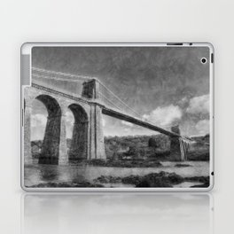 Menai Suspension Bridge Laptop & iPad Skin