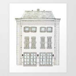 French Hotel Art Print