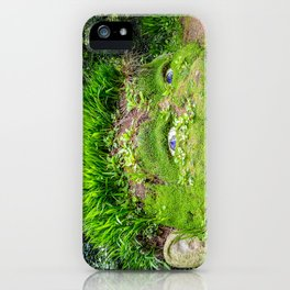 The Lost Gardens of Heligan - Giant's Head iPhone Case